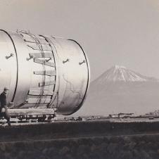 貯槽新設工事(昭和30年代)画像