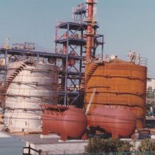 貯槽据付工事(昭和44年)画像