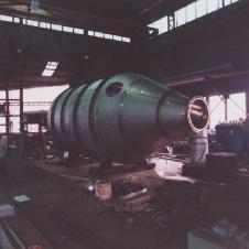 蒸発缶製作(平成元年)画像