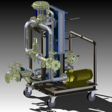 移動式温水ユニット